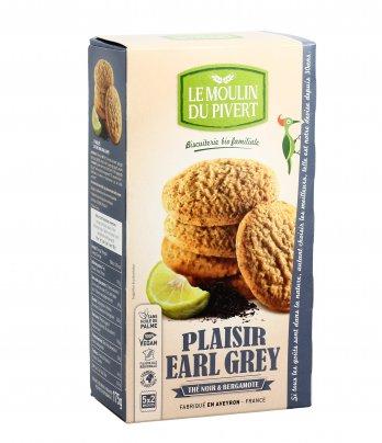 Biscotti con Tè Nero e Bergamotto - Plaisir Earl Grey
