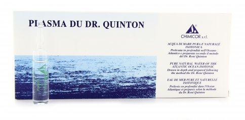 Plasma Dr Quinton 12 Fiale Acqua di Mare Isotonica