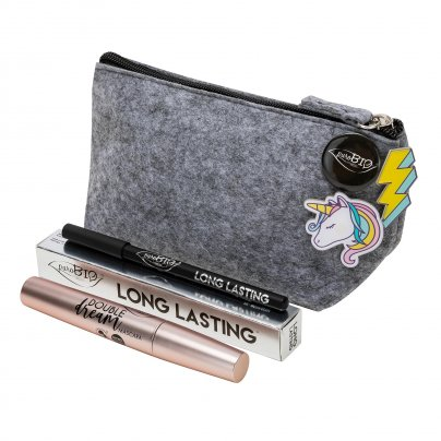 Pochette Unicorn: Mascara Double Dream + Matita Long Lasting