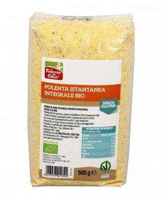 Polenta Istantanea Integrale Bio - Senza Glutine