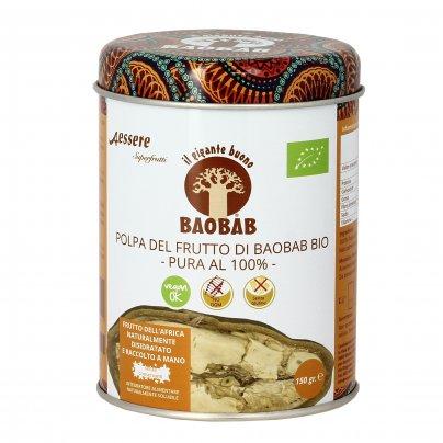 Polpa del Frutto di Baobab Bio - Barattolo di Latta