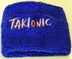 Polsino Elasticizzato Takionic - Colore Blu