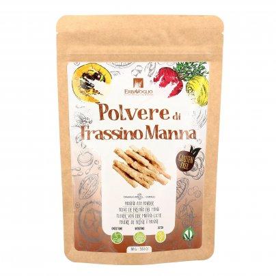 Polvere di Frassino Manna Senza Glutine