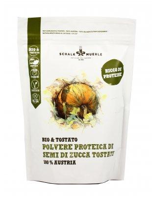 Polvere Proteica di Semi di Zucca Tostati