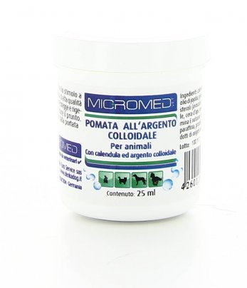 Pomata all'Argento Colloidale per Animali 25 ml