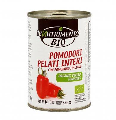 Pomodori Pelati Interi Biologici