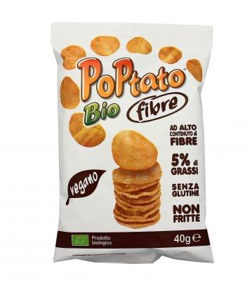 Patatine Snack Poptato Bio Fibre