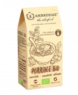Porridge Bio - Nocciole e Mandorle Attivate