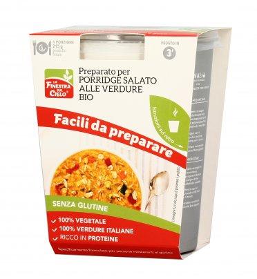 Preparato per Porridge Salato alle Verdure