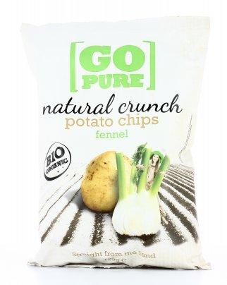 Potato Chips Fennel - Patatine Bio al Finocchio 125 gr