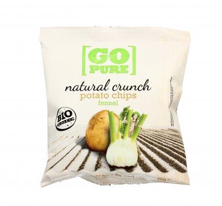 Potato Chips Fennel - Patatine Bio al Finocchio 40 gr
