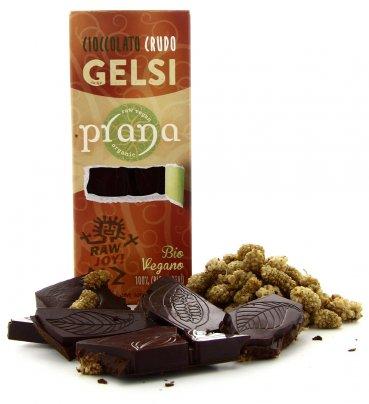 PranaCiok - Cioccolato Crudo ai Gelsi