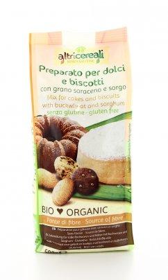 Altri Cereali - Preparato per Dolci e Biscotti con Grano Saraceno e Sorgo