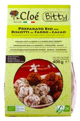 Preparato per Biscotti Bio al Farro e Cacao
