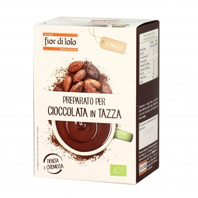 Preparato per Cioccolata in Tazza Bio