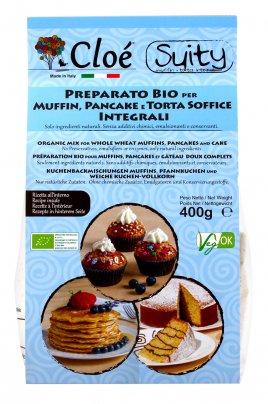 Preparato per Muffin, Pancake e Torta Soffice Integrali
