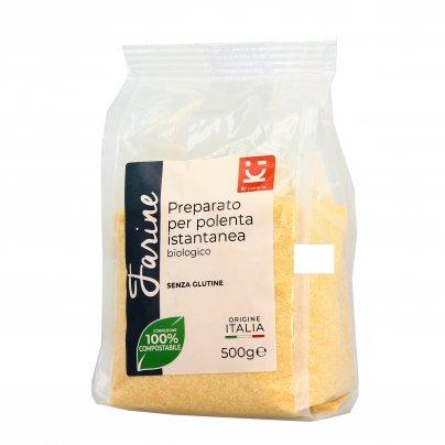 Preparato per Polenta Istantanea Bio - Senza Glutine