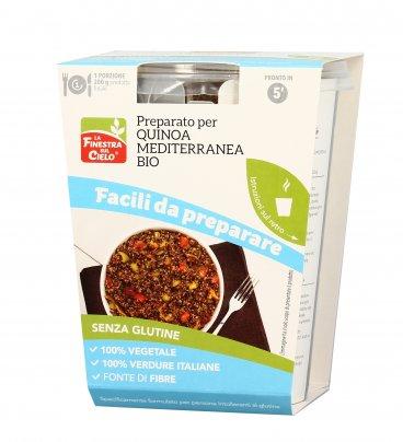 Preparato per Quinoa Mediterranea Bio