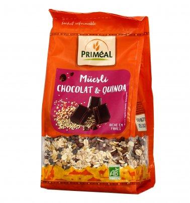 Muesly Quinoa e Cioccolato