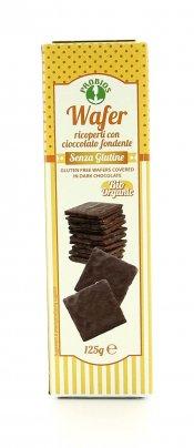 Wafer Ricoperti con Cioccolato Fondente