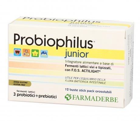 Probiophilus Junior - Fermenti Lattici Vivi per Bambini