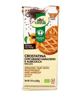 Crostatina con Grano Saraceno e Albicocca Senza Glutine - AltriCereali