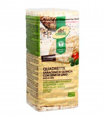 Quadrette di Grano Saraceno e Quinoa - AltriCereali