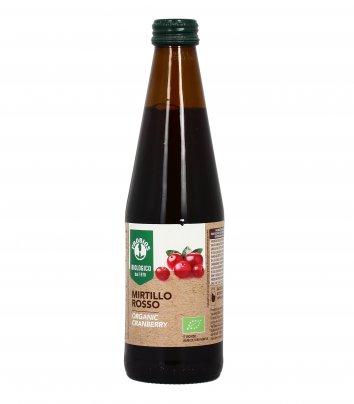 Succo di Mirtillo Rosso Americano Bio