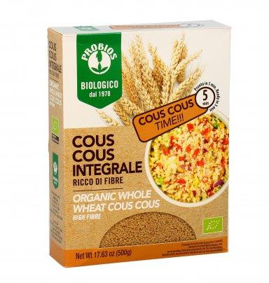 Cous Cous Integrale Bio di Grano Duro