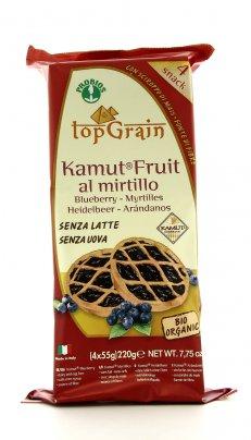 Crostatine KAMUT® - grano khorasan Fruit al Mirtillo - Top Grain