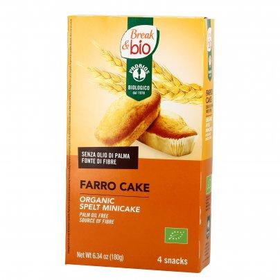 """Pluncake al Farro - Farro Cake """"Break e Bio"""""""