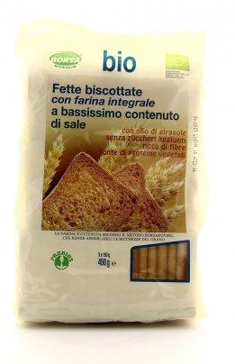 Fette Biscottate con Farina Integrale