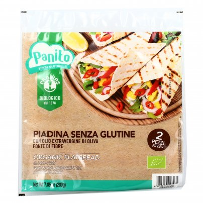 "Piadina Bio Olio Extravergine di Oliva Senza Glutine ""Panito"""