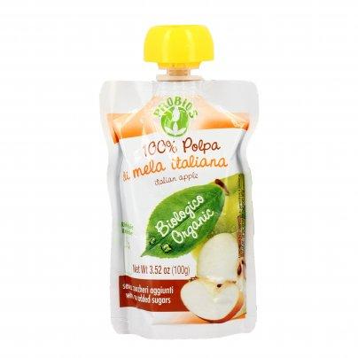 Polpa di Frutta con Mela Italiana Bio - Senza Zuccheri Aggiunti