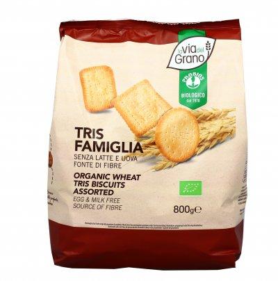 Biscotti Tris Famiglia - La Via del Grano