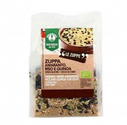 Zuppa Amaranto e Quinoa Senza Glutine
