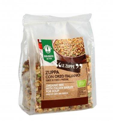 Zuppa con Orzo Italiano