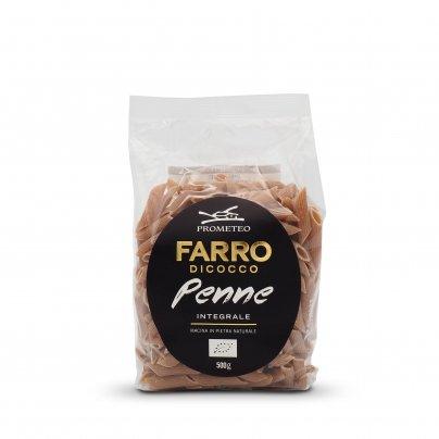 Penne Pasta Integrale di Farro Dicocco Bio