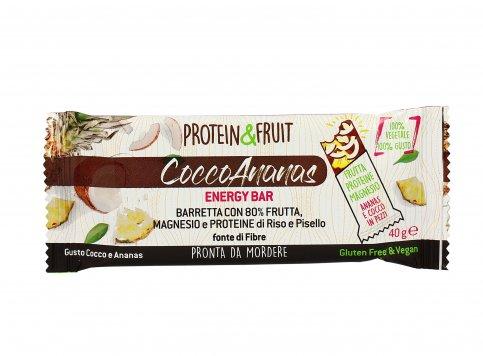 Barretta Energetica Cocco e Ananas - Protein & Fruit