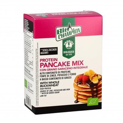 Preparato Bio Protein Pancake con Grano Saraceno Integrale - Senza Glutine