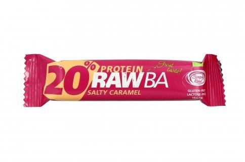 Barretta Cruda con Frutta e Caramello Salato - Protein Rawba 20%