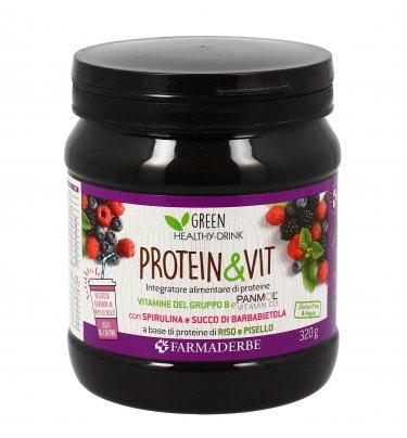 Integratore Proteico Frutti di Bosco - Protein & Vit