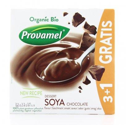 Bio Soya Dessert Choco 3+1 Gratis