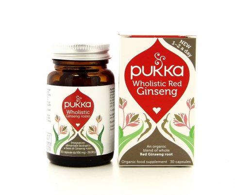 Pukka Integratori - Wholistic Red Ginseng