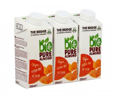 Bevanda alla Mandorla - Pure Almond Drink Mini Brik 3x200 ml