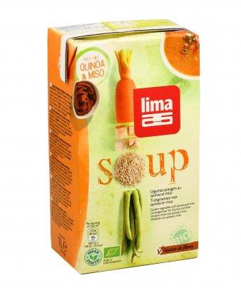 Zuppa di Quinoa e Miso Bio