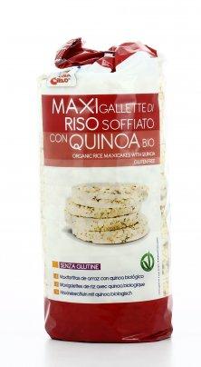 Maxigallette di Riso Soffiato con Quinoa Bio