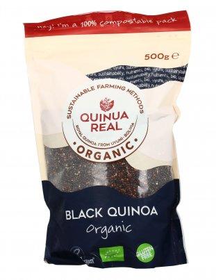 """Quinoa Nera Biologica Senza Glutine """"Quinoa Real"""""""