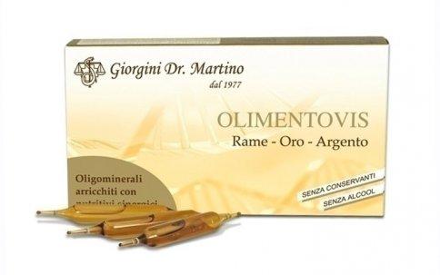 Olimentovis Rame Oro Argento - 30 Ampolle