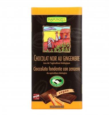 Cioccolato Fondente con Zenzero